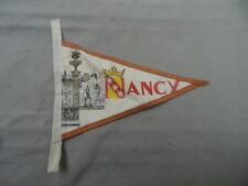 ECUSSON FANION TISSU NANCY ANNEES 50/ 60 VINTAGE 50th 60th / VOIR AUTRES VENTES