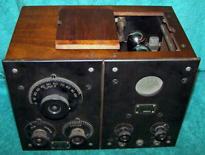 1922 RCA / Westinghouse RA/DA .. RC radio in VG cond .. with three display tubes