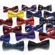 Dot Wedding Ties For Children Boys Adjustable Tuxedo Kids Party Bow Tie Necktie#