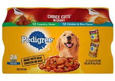 Pedigree Choice CUTS in Gravy Adult Canned Wet Dog Food Variety Packs of 24