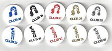 VINTAGE CLUB 21 STRIP CLUB GOOD FOR TRADE TOKENS COIN LOT RISQUE STRIPPER $5 $10