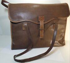 Grande sacoche, cartable serviette en simili-cuir, porte documents