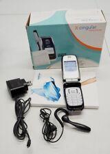 Nokia 6102b Cingular Cellular Flip Phone Bundle