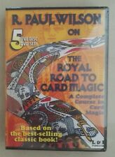 Sealed - R. Paul Wilson on the Royal Road to Card Magic 5 DVD Complete in a Box