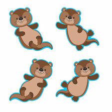 Otter Bulletin Board Cutouts - Educational - 48 Pieces