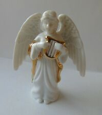 Christmas Tree Hanging White Porcelain Angel Ornament