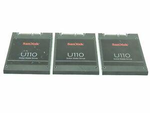 LOT of THREE Sandisk U110 16GB SSD Solid State Drive SDSA6GM / 724416-001 TESTED