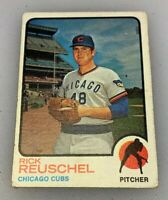 1973 Topps Baseball Card Rick Reuschel # 482 Rookie RC