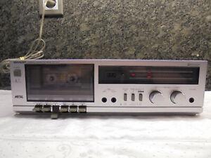 Sharp RT100H Tapedeck Kassetten Recorder Cassette HiFi Stereo geprüft!