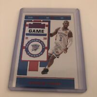 2019-20 Panini Contenders Game Ticket Red Parallel Chris Paul OKC Thunder #16