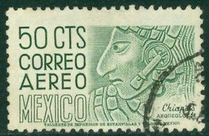 EDW1949SELL : MEXICO 1953 Sc #C212 VF, Used. Neat corner cancel. Scarce Cat