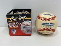 Unsigned Rawlings Official American League Baseball GENE BUDIG PRESIDENT 94-99!