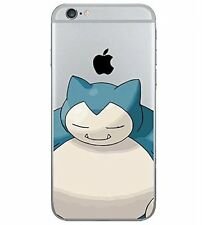 Case/Cover Apple iPhone 5C + Screen Protector / Pokemon Gel Silicone Snorlax
