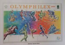 2000 Olymphilex 2000 Souvenir Sheet MNH
