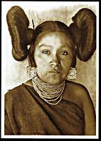 ⫸ 864 Postcard HOPI MAIDEN Native American Indian 1901 Vroman Photo