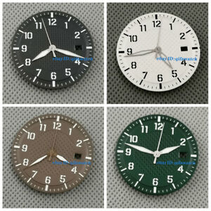 34mm Sterile Watch Dial Face +Hands Fit NH35 NH35A Movement