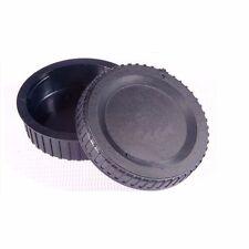 Camera Body Cap + Rear Lens Caps for Nikon F mount AI AF AF-S Lens Anti-dust US