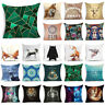 Animals & Skull Polyester Throw Pillow Case Cushion Cover Sofa Waist Home Decor