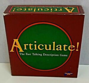 Articulate Board Game Drumond Park 100% Complete Family Games