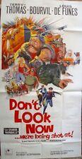 LA GRANDE VADROUILLE 3 sheet movie poster 41x81 LOUIS DE FUNES BOURVIL NM