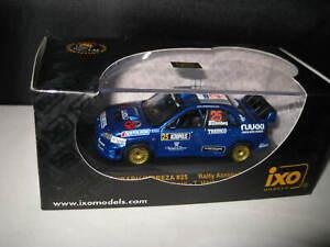 IXO 1:43 WRC SUBARU IMPREZA #25 RALLY ACROPOLIS 2005 SOHLBERG HANTUNEN  RAM199