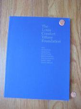2003 Louis Comfort Tiffany Foundation Award CATALOG art book painting sculpture