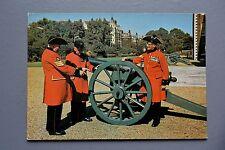 R&L Postcard: Chelsea Pensioners London Field Gun