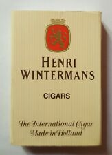 HENRI WINTERMANS - CIGARS - BOITE ALLUMETTES PUBLICITAIRE / MATCHBOOK
