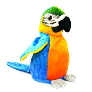 Labertier Blauflügel Ara Papagei Sprechender Vogel Chatter  plappert nach Neu