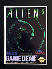 Vintage Toys 'R' Us VIDPRO CARD for ALIEN 3 for the SEGA GAME GEAR by ARENA