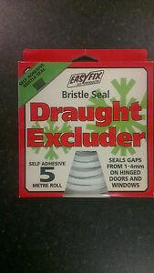 Easyfix Bristle Seal Draught Excluder - 5m