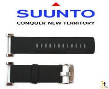 Suunto Core ORIGINAL Flat Black Rubber Watch Band Strap w/ Attachment Pins