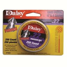 DAISY PrecisionMax .22 Cal Pointed Field Airgun Pellets (250 Count) # 7922 New