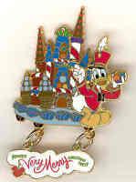 Disney WDW MVMCP Passholder Donald Duck Pin