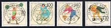 GERMANIA 4 FRANCOBOLLI PRO SPORT 1991 timbrato