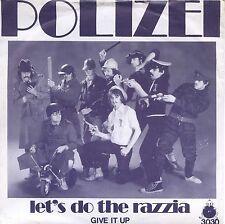 7inch DER POLIZEI let's do the razzia +PS DUTCH VERY RARE EX++ 1980 KILROY