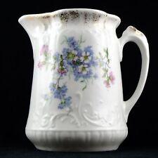 POT à LAIT Ancien PORCELAINE DE LIMOGES France milk jug tea/thé/barbeau/set/20th