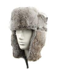 WWII German Military Luftwaffe M42 M1942 Rabbit Fur Cap Hat Size L