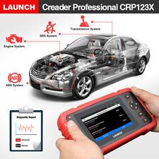 LAUNCH X431 CRP123X OBD2 Car Scanner Automotive Diagnostic Tool 4 System US Ship