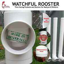 Set of 3 Gravity Feeders for Chickens -  Coop and Free Range or Garden