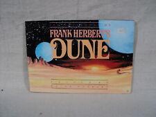 Notebooks of Frank Herbert's Dune USED Paperback Book 1988 Perigree (T 2637)