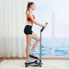 Stair Stepper Exercise Machine Fitness Cardio Workout Aerobic Handle Bar Climber
