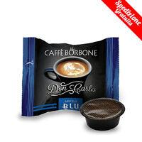 100 CAPSULE CAFFE' BORBONE MISCELA BLU DON CARLO A MODO MIO OR