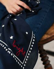 Joules Navy Stars Neckercheif