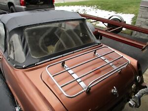MG Midget Convertable Top, Support Bows Complete