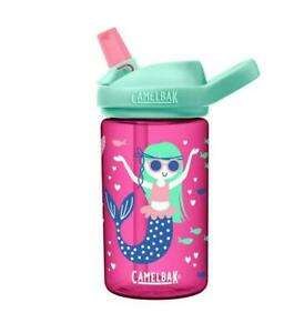Camelbak Eddy+ Kid's BPA Free Water Bottle 14oz Mermaids&Narwhals