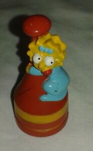 The Simpsons 3D Chess Set Replacement Maggie Red Pawn Token Piece  2001 Fox
