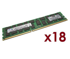 144GB 18x HP 8GB 500205-071 f ProLiant DL320 G6 DL370 G6 ECC RAM REG 1333 Mhz