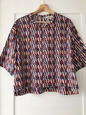 ISABEL MARANT ETOILE multicoloured cotton top blouse FR 34 / UK 6 *NEW W/O TAGS*