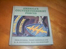 AMERICA'S COUNTERTERRORIST FORCES Firearms Tactics Combat Special Force Book